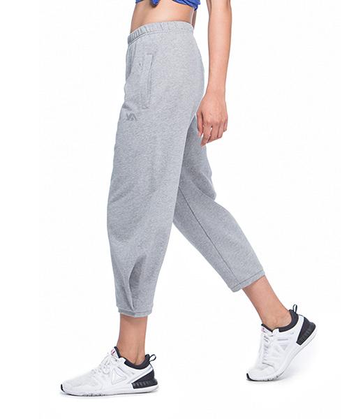 YA系列-享動時尚                      女運動八分束口褲