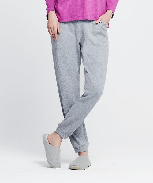 3GunSitename-自由空間-雙層棉-女束口長褲