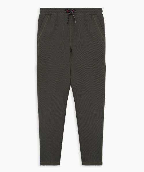 羅馬布女棉柔休閒長褲-都會休閒-休閒褲-3GUN |男性時尚內衣褲MIT品牌
