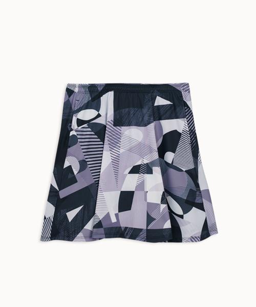 專利吸排女運動印花短褲裙-YA系列-享動時尚-3GUN |男性時尚內衣褲MIT品牌
