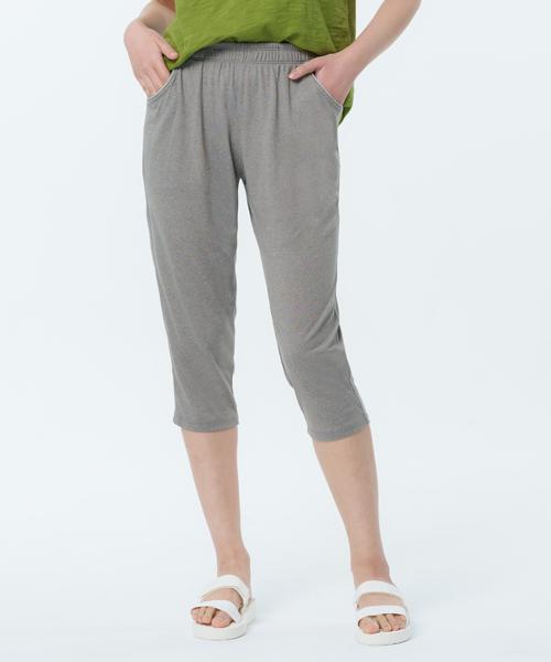 輕盈柔滑女七分哈倫褲-自由空間-輕舒-3GUN |男性時尚內衣褲MIT品牌