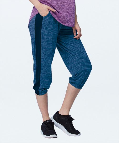 舞龍紋女八分束口褲-YA系列-享動時尚-3GUN |男性時尚內衣褲MIT品牌