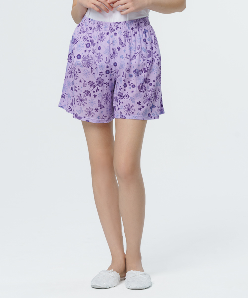 制菌防蟎女短褲裙-天絲-印花-3GUN |男性時尚內衣褲MIT品牌