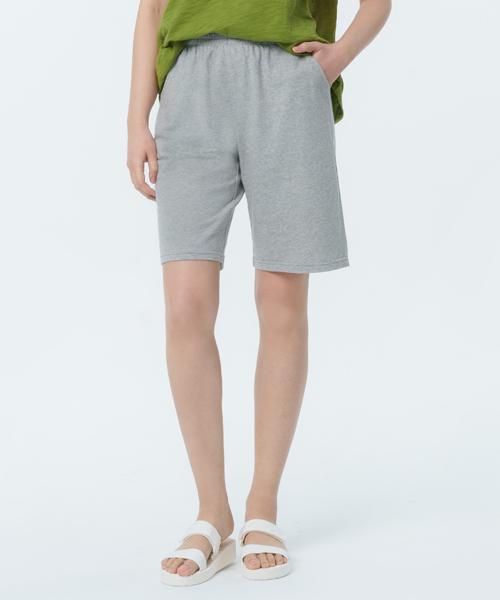 柔軟棉織女附暗袋五分褲-自由空間-魚鱗布-3GUN |男性時尚內衣褲MIT品牌