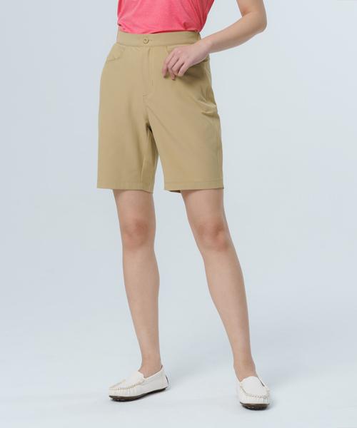 超撥水女機能彈性五分褲-都會休閒-平織休閒褲-3GUN |男性時尚內衣褲MIT品牌