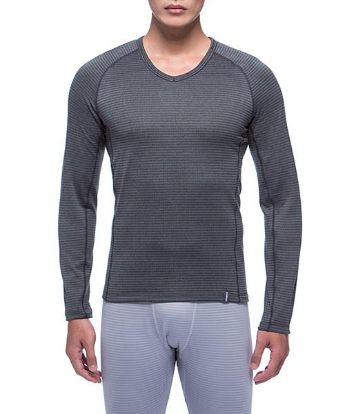 熱循環                            男V領剪接長袖衫