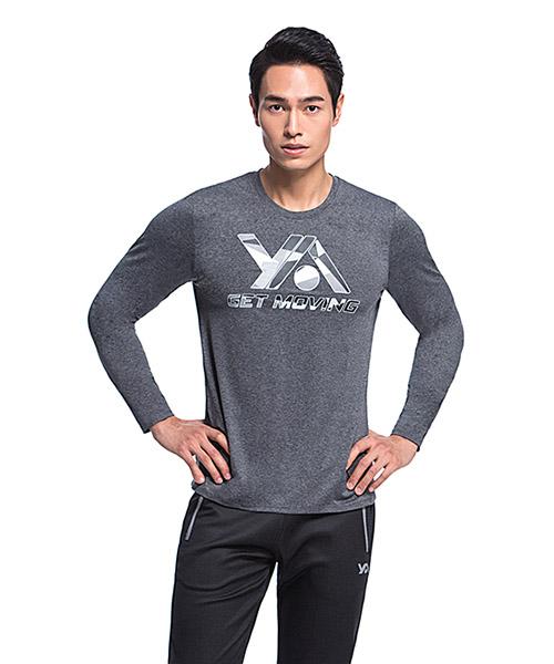 YA系列-享動時尚                      男印花圓領長袖衫