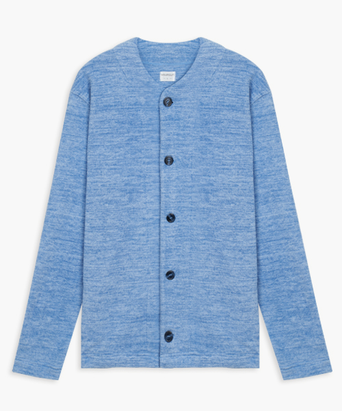 男刷絨開襟長袖衫-自由空間-FLEECE-3GUN |男性時尚內衣褲MIT品牌