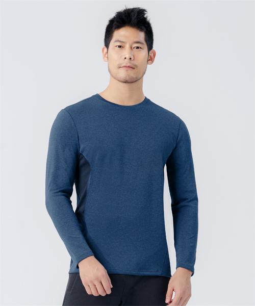 快乾調溫男剪接長袖衫-YA系列-排汗密碼-3GUN |男性時尚內衣褲MIT品牌