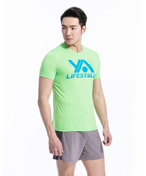 YA系列-享動時尚                      男印花圓領短袖衫