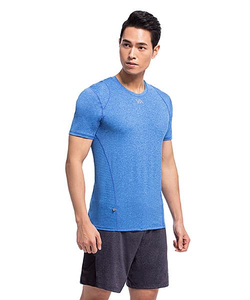 YA系列-排汗密碼                      男透氣圓領短袖衫