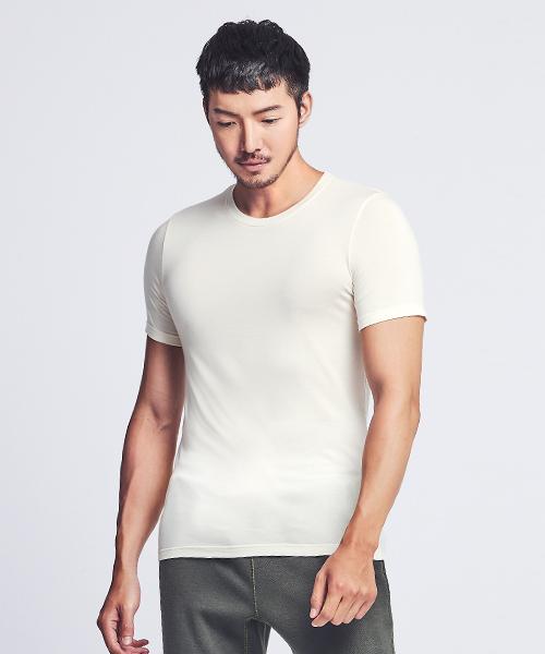 男圓領短袖衫-HEATPLUS-3GUN |男性時尚內衣褲MIT品牌