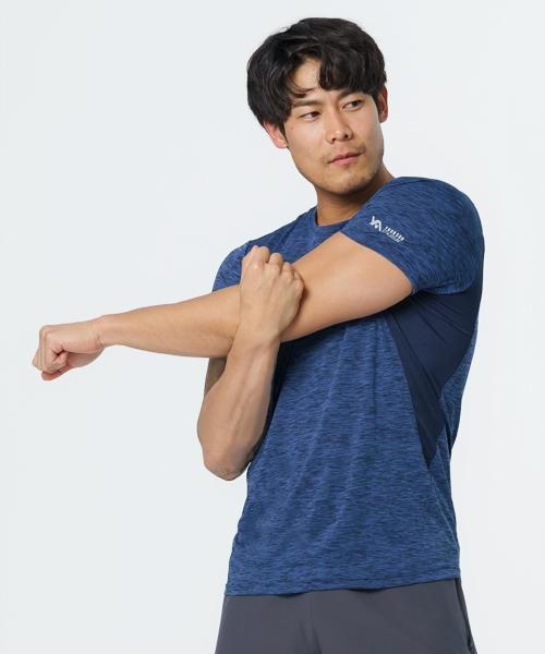 舞龍紋男快乾圓領短袖衫-YA系列-排汗密碼-3GUN  男性時尚內衣褲MIT品牌