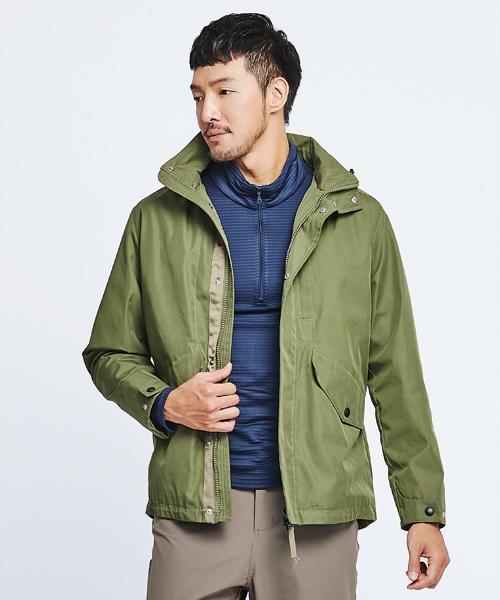 超撥水棉男防風可拆帽外套-都會休閒-外套-3GUN |男性時尚內衣褲MIT品牌
