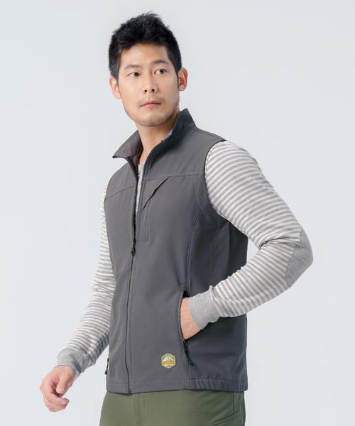 超撥水男輕戶外機能背心-輕戶外休閒-背心-3GUN |男性時尚內衣褲MIT品牌