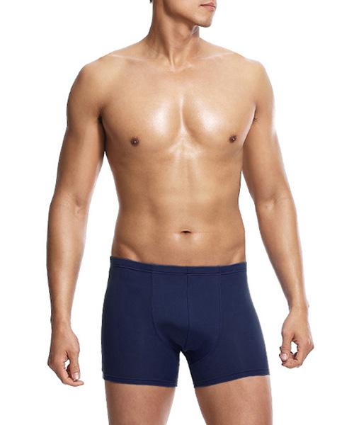 COOLPLUS旅行                     男吸排中腰平口褲