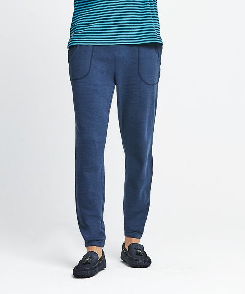 3GunSitename-自由空間-雙層棉-男束口長褲