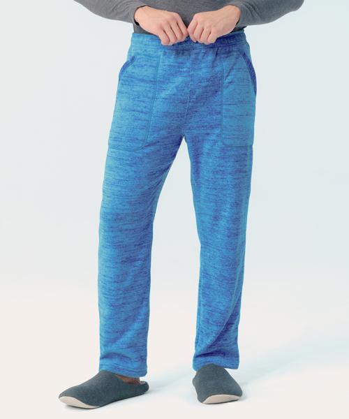 男刷絨居家長褲-自由空間-FLEECE-3GUN  男性時尚內衣褲MIT品牌