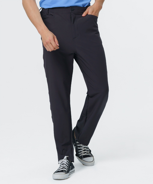 超撥水男機能彈性長褲-輕戶外休閒-平織休閒褲-3GUN  男性時尚內衣褲MIT品牌