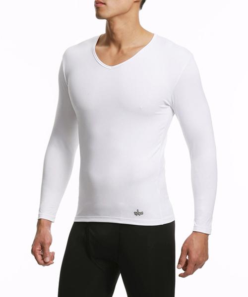 旅行系列-2級                        男V領長袖衫