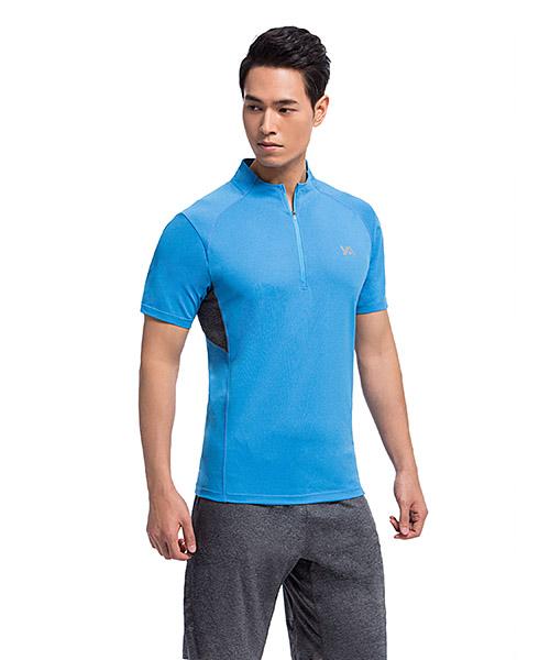 YA系列-享動時尚                      男運動小立領衫