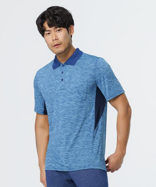 舞龍紋男透氣格領POLO-YA系列-享動時尚-3GUN |男性時尚內衣褲MIT品牌