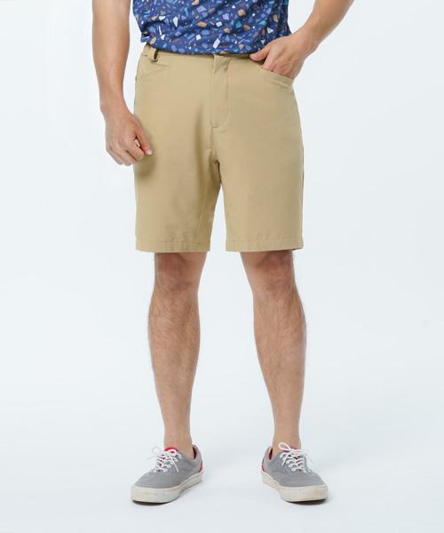 超撥水男機能彈性五分褲-都會休閒-平織休閒褲-3GUN |男性時尚內衣褲MIT品牌