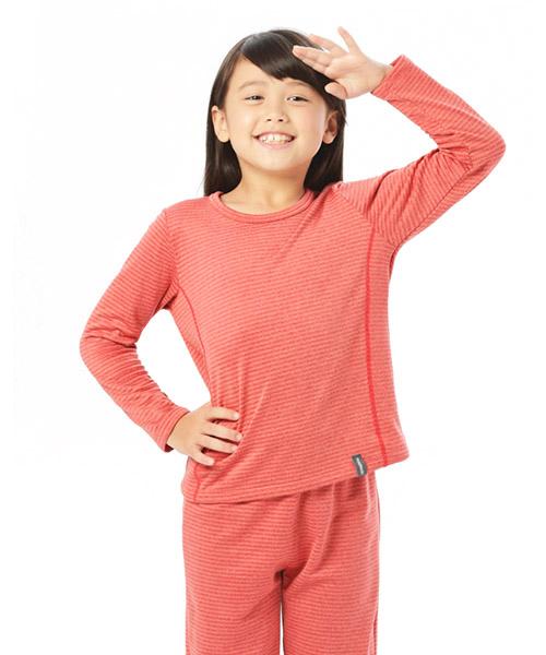 熱循環                            中性童圓領長袖衫