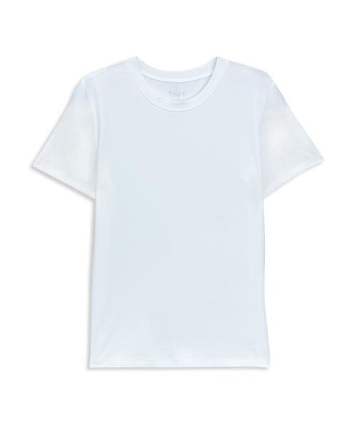 涼爽雲紗童圓領短袖衫-COOLPLUS旅行-3GUN |男性時尚內衣褲MIT品牌