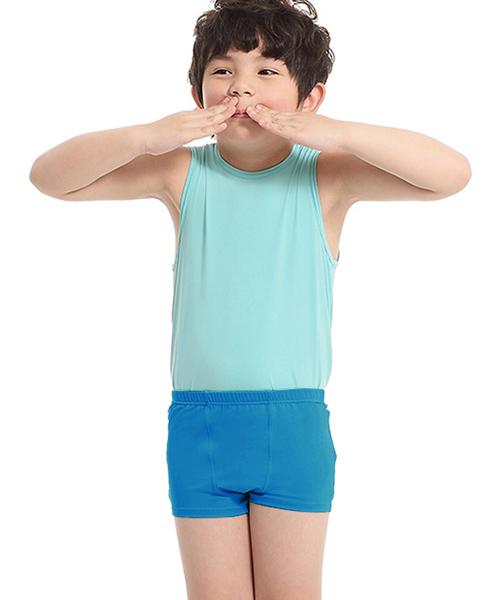 COOLPLUS旅行                     男童吸排平口褲